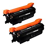 SpeedyToner Compatible Toner Cartridge Replacement for HP CF320A ( Black , 2-Pack )