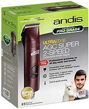 Andis UltraEdge AGC Super 2Speed Pet Clipper Maroon