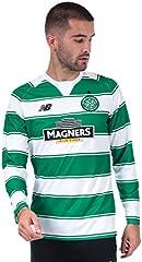 New Balance Camiseta de Manga Larga para Hombre Diseño del Celtic FC Home