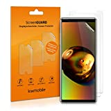 kwmobile 3X Film de Protection pour écran Sony Xperia 5 Transparent. Qualité...