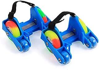 Children LED Flashing Roller Skate Shoes With Hot Wheel Sports Heel Led Skates Rollers Shoes Inline Skating Good As Seba, Adjustable Size