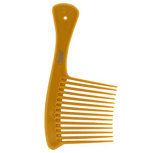 Price comparison product image Annie Jumbo Rake Comb,  Black / Bone / Red,  1.5Count