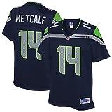 NFL PRO LINE Women's DK Metcalf College Navy Seattle Seahawks Team Player Jersey