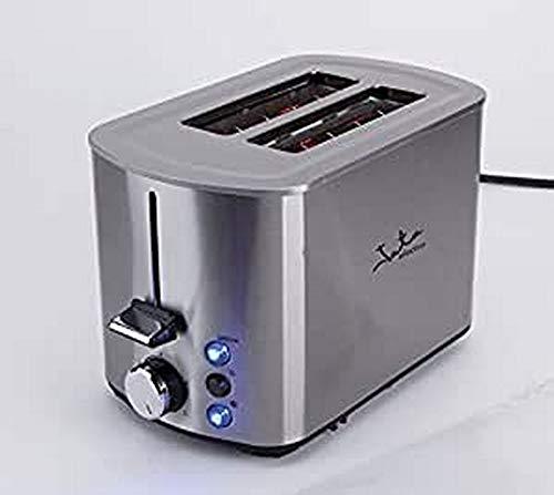Jata TT1048 Tostador con Dos Ranuras de 40 mm con Selector Electrónico de Tostado 5 Posiciones Cuerpo Toque Frío Descongela y Mantiene el Calor Bandeja Recogemigas Centrado Automático del Pan