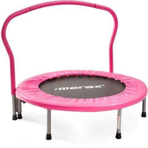 Camas plegables, cama elástica interior para entrenamiento de fitness, mini trampolín, cama...