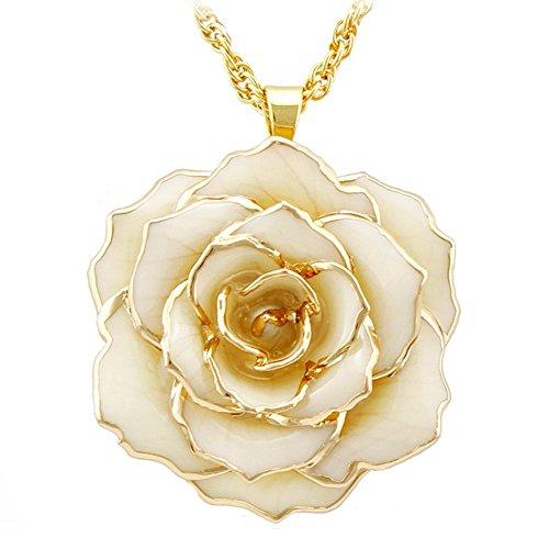 Classic Ivory Pendant Necklace