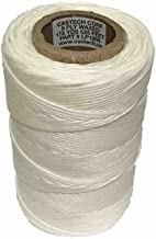 145P Tags Waxed Lacing Cord Twine/Cable TIE Down, Polyester, 9-PLY, 175 Yards, 525 FEET, 8 Ounces, Made in USA