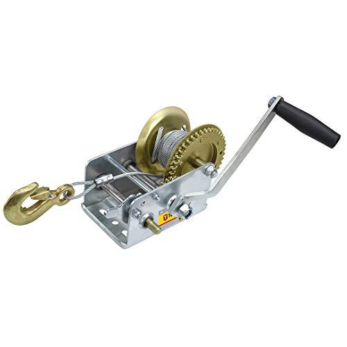 Cabrestante manual Cable de 10metros de acero.