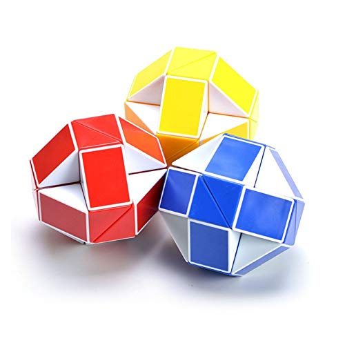 ZHIZI Juguetes para primera infancia 10 piezas de cubos de 24 velocidades, mini juguetes educativos torcidos, regalos para mejorar el desarrollo intelectual de los niños y la agilidad intelectual (col