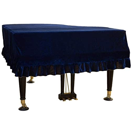 Lowest Prices! Piano cover Universal Grand Decoration Large Size Dust Cover Cloth (Color : Blue, Siz...