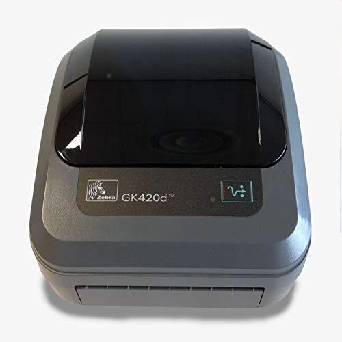 Zebra Stampante di Tickets Termica GK420D Serie USB PARALO Nero