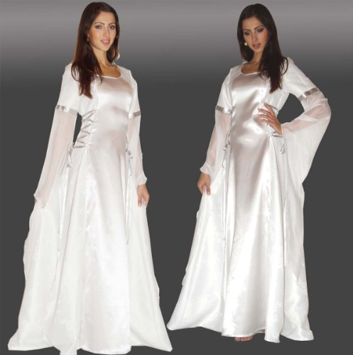 Maylynn 12201-S-M – Traje Medieval Disfraz de ángel Anael, S/M Aprox. 38/40