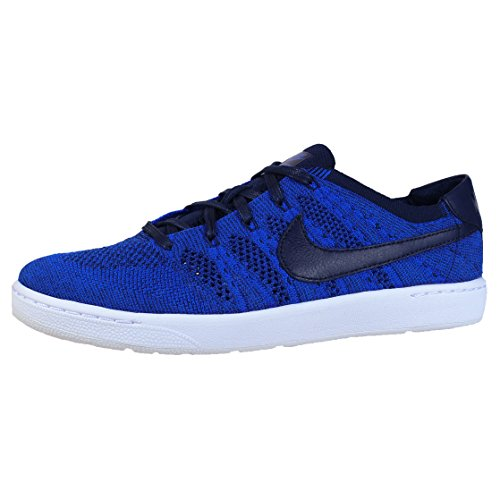 Nike Tennis Classic Ultra Flyknit, Zapatillas de Tenis para Hombre, Azul (College Navy/College Navy-Racer Blue), 42 EU