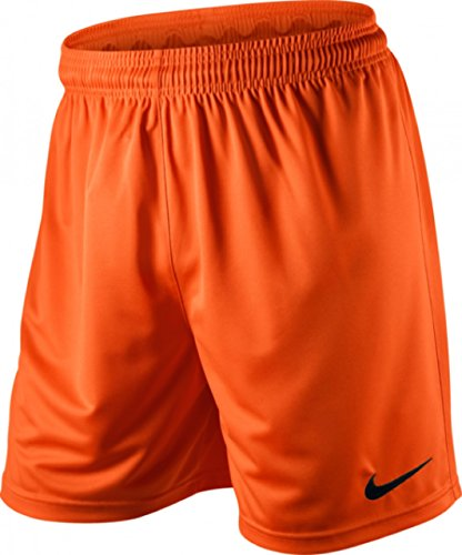 Nike Herren Park II Knit Shorts ohne Innenslip, orange (Sicherheit Orange/Schwarz/815), Gr. XL