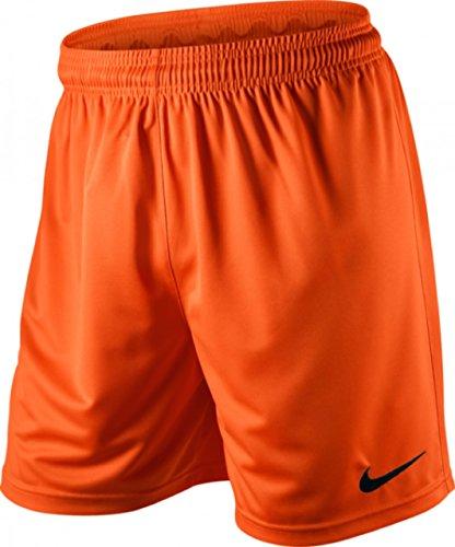 Nike, Pantaloncini da calcio Uomo Park Knit NB, Arancione, S