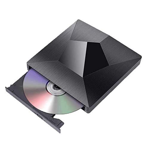 Lettore DVD Esterno, KuWFi Masterizzatore Dvd CD Esterno Tipo C USB 3.0 Masterizzatore DVD   CD   VCD esterno RW SVCD Drive Unità ottica per laptop, desktop, notebook, MacBook