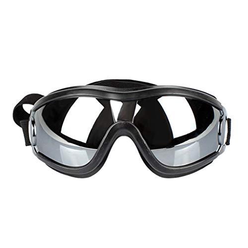 Congchuaty verstelbare huisdier hond zonnebril bril bril UV-proof voor middelgrote grote hond reizen skiën