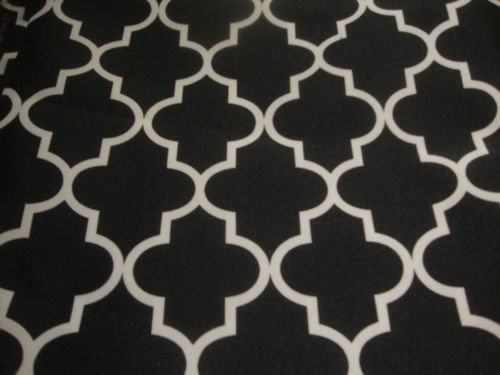 black and white outdoor fabric - 2