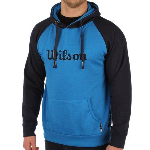 Wilson - Sudadera con capucha para hombre talla L