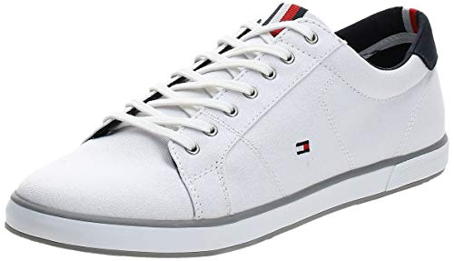 Tommy Hilfiger H2285arlow 1d, Zapatillas Hombre, Blanco (White 596), 43 EU