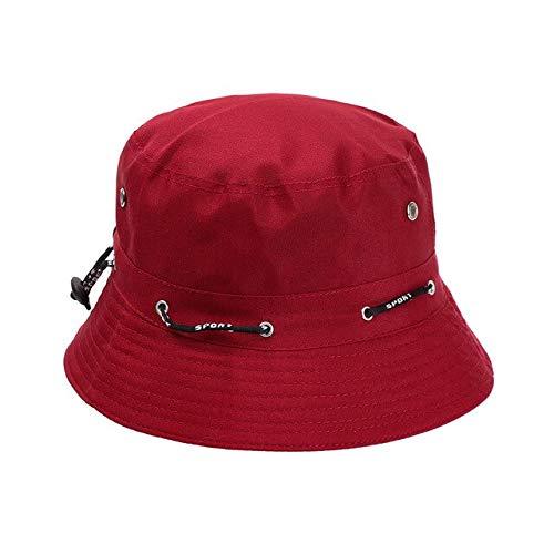 Sombrero de Cubo Plegable de Verano Unisex para Mujer, Protector Solar al Aire Libre, Gorra de Pesca de algodn, Gorra de Caza para Hombre, Sombreros para prevenir el Sol-purple1