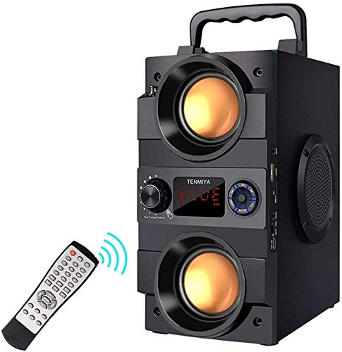 Bluetooth Speaker, 30W(50W Peak) Portable Bluetooth Speakers Wireless...