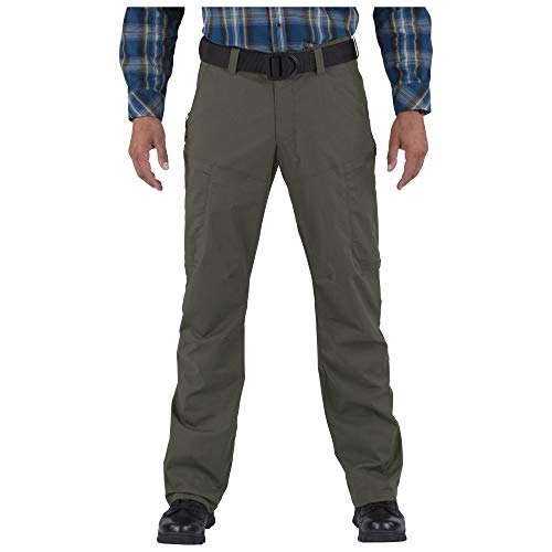 5.11 Tactical Series APEX Pant Homme, TDU Green, FR : 2XL (Taille Fabricant : 42)