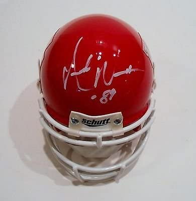 Andre Free shipping anywhere in the nation Ware Signed University of Houston Helmet Cougars Soldering Mini CO w