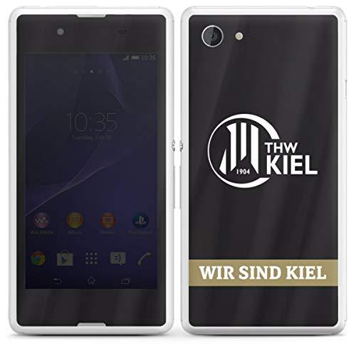 DeinDesign Folie kompatibel mit Sony Xperia E3 Aufkleber Skin aus Vinyl-Folie Fanartikel THW Kiel Handball