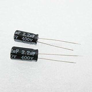 25pcs condensateur électrolytique alu faible ESR 4.7UF 400V 3000H 105°C 8x12mm