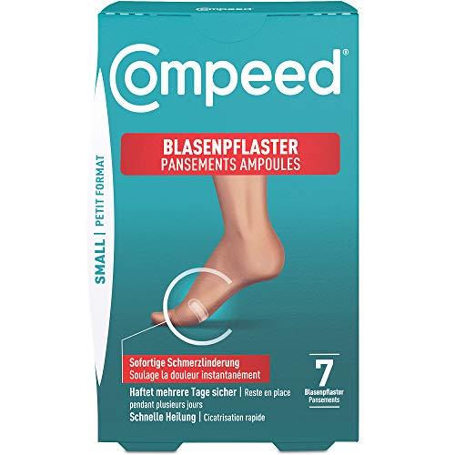 Compeed Blasenpflaster Small – extra kleine Hydrokolloid-Pflaster gegen Blasen an Fersen und Außenseiten der Füße, 7er Pack