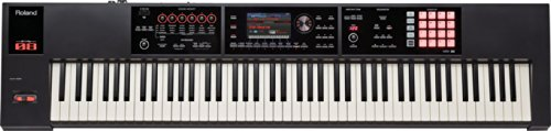 Roland FA 88 Keys USB Black MIDI Keyboard – MIDI Keyboards (88 Keys, Buttons, Lever, Rotary, Red, USB, 1415 mm, 340 mm)