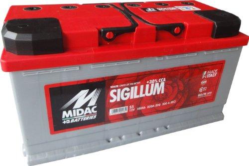 Preisvergleich Produktbild Autobatterie Midac Sigillum S5 12V 100Ah 850A