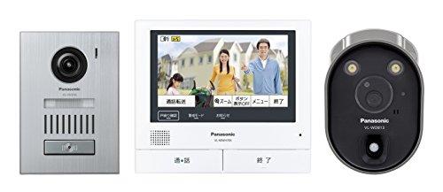 パナソニック(Panasonic) ワイヤレスカメラ付テレビドアホン VL-SVH705KLC