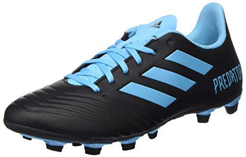 Adidas Predator 19.4 FxG voetbalschoenen, uniseks, volwassenen, meerkleurig (Core Black/Bright Cyan/Solar Yellow 000), 45 1/3 EU