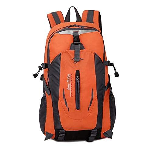 通用 40L New Large-Capacity Outdoor Mountaineering Bags Travel Outdoor Sports Package Mountaineering Bag Hiking Backpack Shoulders (Orange)