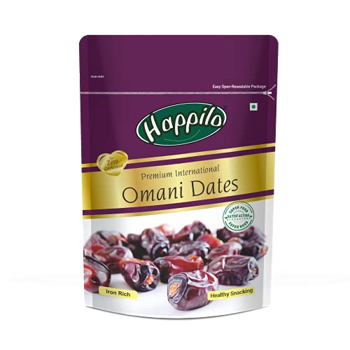 Happilo Dried Premium International Omani Dates, 250g