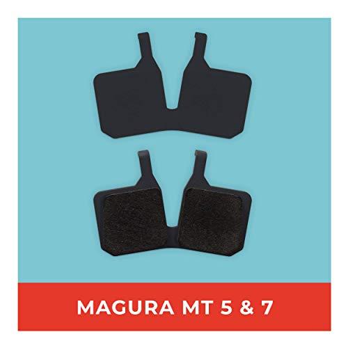Pastillas de Freno Magura MT-5 MT-7 para Freno de Disco de Bicicleta, Alta Potencia de Freno, Pastillas de Freno duraderas y Ajustables.