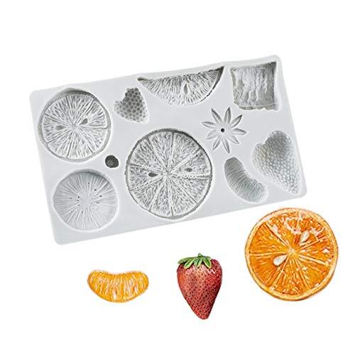 1 Stück Gewürze Obst Orange Zitrone Erdbeere DIY Formen für Hochzeit Cup Kuchen Dekoration...
