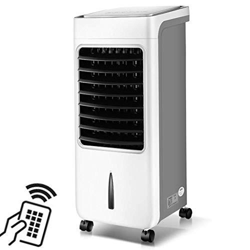 NIHAOA Fenster-Klimaanlage Negative Ionen Hyundai Klimaanlagen-Ventilator Start Dorm Luftkühler Mute Bottom Lärm Kleine Mobiler Mini-Lüfter Weitwinkel Luftversorgung 12H Zeit