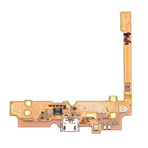 YIJINYAESHOP Piezas de Repuesto del teléfono móvil Cable de conexión de Conector de Carga USB Flex Cable y micrófono Flex de reemplazo for LG Optimus L70 / D321 / D325 / MS323 Piezas de Repuesto