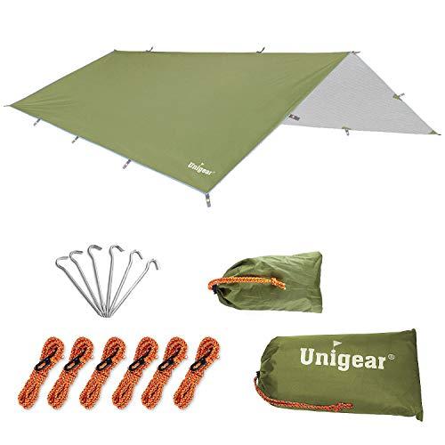 Unigear タープ キャンプ タープ テント 防水 タープ