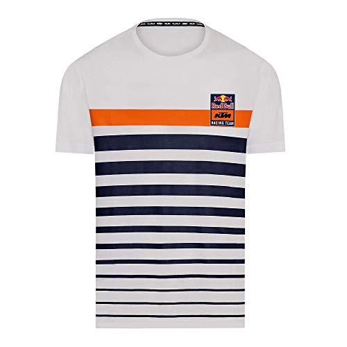 Red Bull KTM Stripe Camiseta, Hombres X-Large - Original Merchandise