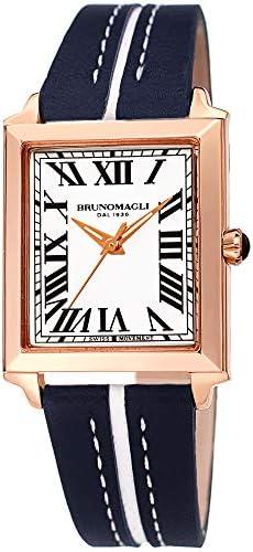 Bruno Magli Women s Valentina 1064 Swiss Quartz Italian Leather Strap Watch Blue product image