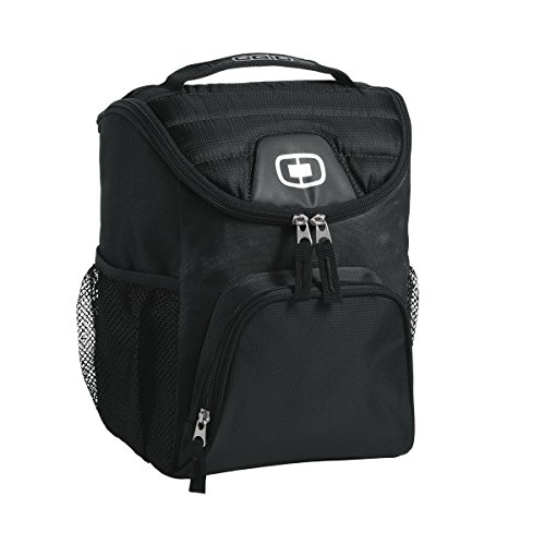 OGIO - Chill 6-12 Can Cooler, Black, OS
