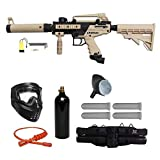 Tippmann Cronus Paintball Marker Gun -Tactical Edition- Tan Starter Package