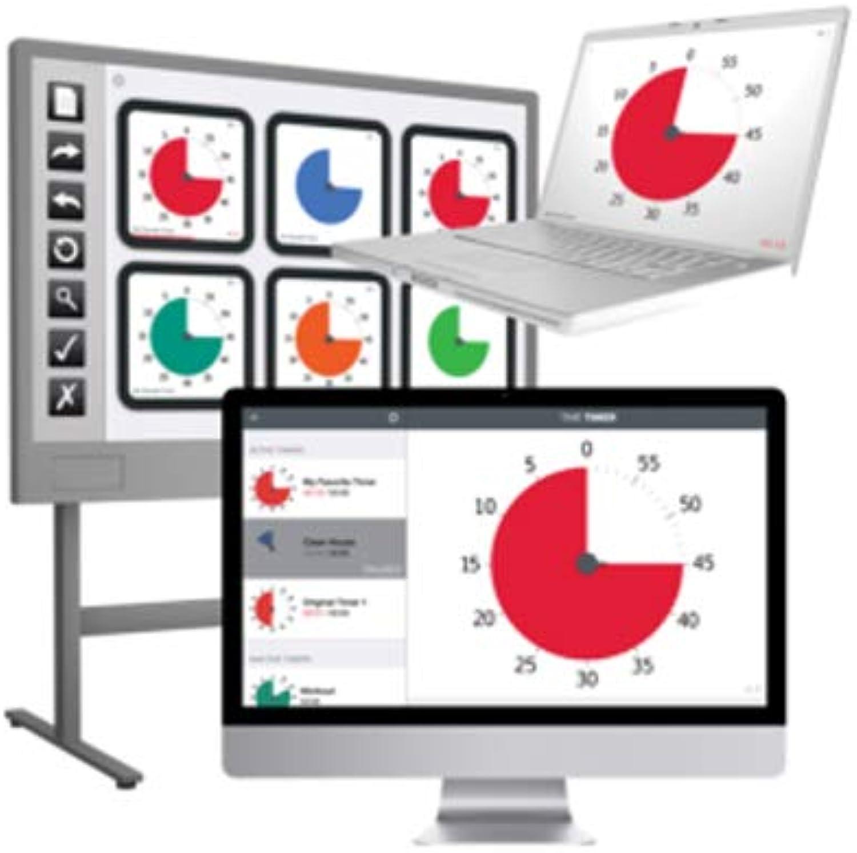 calidad auténtica Time Timers JAC5002 - - - Software de escritorio para 5 usuarios, multiColor  mejor servicio