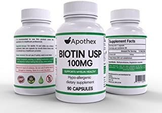 High Dose BIotin Value Bundle - 3 Bottles of 90 Capsules Each