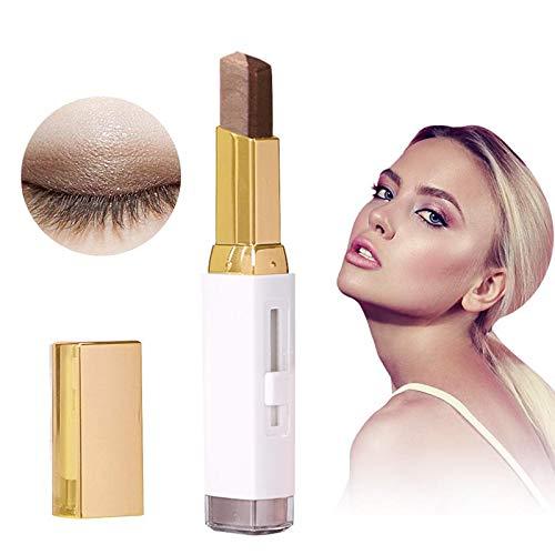 Lápiz de sombras de ojos, Gradiente Doppio Colori Brillo de ojos Eyeliner Eye Cream Pen Trucco Cosmetic Drive (#104)