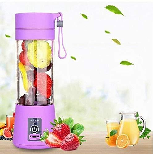 Tragbarer elektrischer Entsafter Mixer a5B Mini Obstmischer Entsafter Fruchtextraktor Lebensmittel Milchshake Multifunktionsmaschine - lila